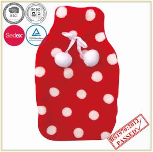 Coral Fleece Cover with Hot Water Bottle pictures & photos