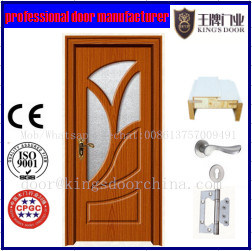 Newest Popular PVC Coated MDF Doors pictures & photos