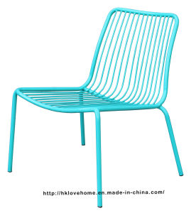 Modern Living Room Stackable Side Steel Wire Leisure Chairs pictures & photos