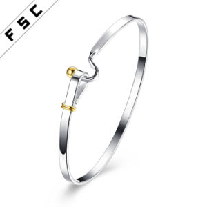 High Quality Simple Style Silver Plated Bracelet for Girl pictures & photos