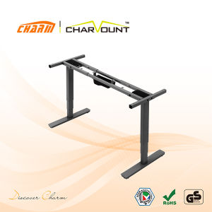 Adjustable Standing Desk OEM, Factory Supply Sit to Stand Desk (CT-MCD-2NB) pictures & photos