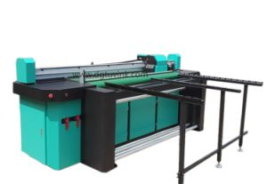 71inch Hybrid UV LED Flatbed to Roll Rigid Media Cmykw UV Printer pictures & photos