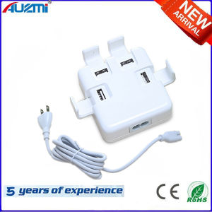 4USB Universal Power Adapter Travel Charger with Cable