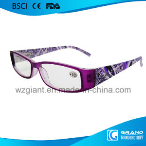2017 New Style Crystal Brightly Sale Optics Acetate Reading Glasses