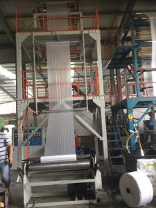 ABA 3 Layer Co-Extrusion Film Blowing Machine-Fixed Die Single Winder-700 pictures & photos