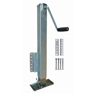 "2500 Lbs Marine Jacks Square Sidewind Trailer Jacks 15"" Travel"