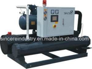 Sc-120W Plastic Screw Water Cooled Chiller pictures & photos