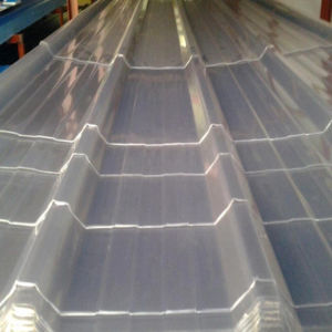 Roof Tile Fiberglass Reinforced Plastic Corrugated Transparent Roofing Sheet