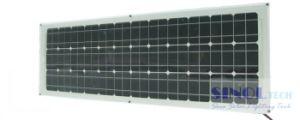 150W Semi-Flexible Monocrystalline Silicon Solar Panel (SFL-150M)