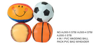 Sports Mini Wadding Balls Set, Rubber Sport Ball
