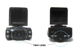 Dual Camera Car Blackbox (X1000) pictures & photos