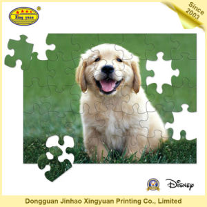 Cardboard Jigsaw Puzzle Children Game
