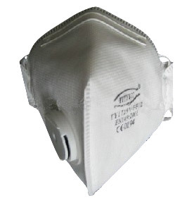 High Quality Disposable Non-Woven Duck Bill Type Dust Mask ((TY-FFP2V-VERTICAL)