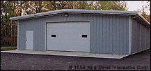 Steel Structure Garage Building pictures & photos
