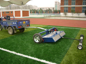 Articulated Fake Turf -Maintaining Machine