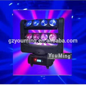 New 8*10W RGBW 4in1 LED Moving Head Beam Spider Lighting