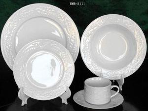 Plain White Dinner Set & China Plain White Dinner Set - China Plain White Dinner Set