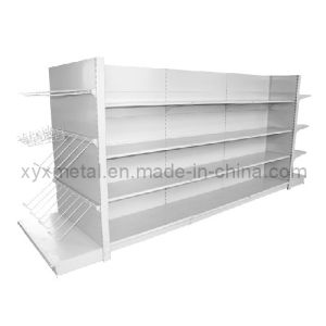 Supermarket Shelf with Hang Goods Multifunctional End Shelves pictures & photos