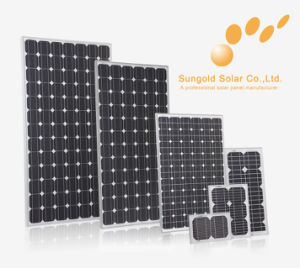 Poly Solar Panel with 140wp for PV System, Home Roof (SGP-140W)