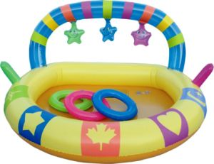 Inflatable Rainbow Kid Pool (ET08246)
