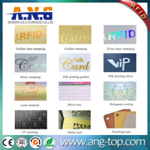 Friendly Business RFID Cards with Hole Punching for Identification pictures & photos