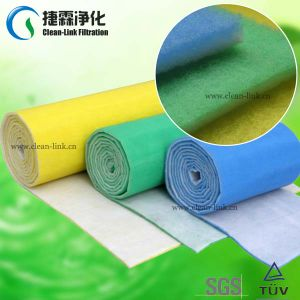 Blue and White Polyester Fiber Air Filter pictures & photos
