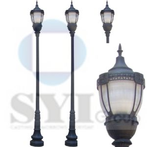 High Quality Cast Iron Outdoor Light  sc 1 st  SYI Industrial Co. Ltd. & China High Quality Cast Iron Outdoor Light - China Cast Iron Garden ...