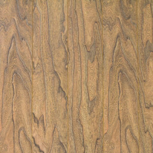 V Goove at Four Side Paint Synchronized Vein Laminate Flooring 7703 pictures & photos