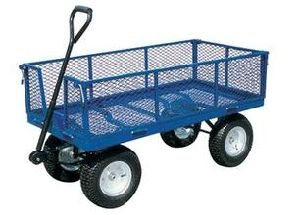 Four Wheel Garden Cart and Tool Cart