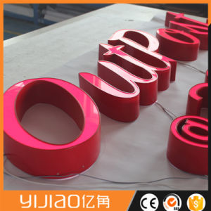 Acrylic Stainless Steel UL 3D LED Reverse Channel Letters pictures & photos