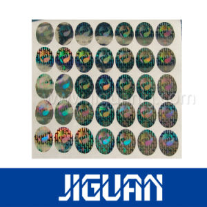 Reasonable Price Cheap Custom Made Transparent Hologram Sticker pictures & photos