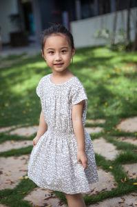52db4bae2 China 100% Cotton Kids Girls Holiday Dresses for Summer - China ...