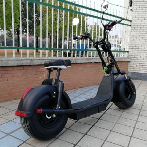 High Quality 1000W 60V/12ah Brushless Adult Electric Scooter, 2 Wheels E-Scooter Electric Motorcycle Harley pictures & photos