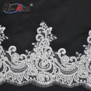 Hot Products Custom Design Good Price Bridal Lace Fabric Wholesale pictures & photos