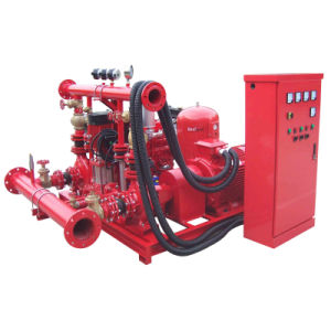Fire Fighting Water Diesel Electric Jockey Pump Set pictures & photos