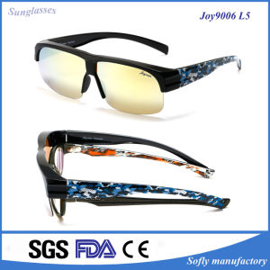 Soflying Polarized Women Sunglasses with Purple Optical Lens, Custom Logo pictures & photos