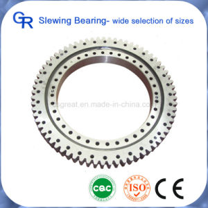 Precision Excavator/Crane Spare Parts Cross Roller Slewing Bearing