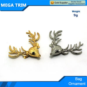 Light Gold and Silver Deer Shape Bag Ornament for Handbag/Clothes pictures & photos
