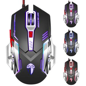 3200dpi LED Gaming Mouse with Metal Design (M-A10) pictures & photos