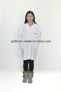 ESD Cotton Smock (grid) (LTLD105-8) pictures & photos