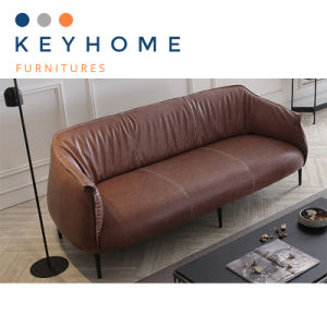 Office Furniture Hot Sale Leather Sofa with 1+2+3 Seater