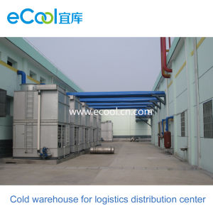 Customized Middle Temperature Cold Storage for Large Scale Food Processing  Factory and Food Cold Chain Logistics Distribution Center