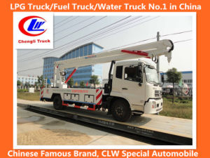 Dongfeng Double Row High Altitude Operating Aerial Platform Truck 22m pictures & photos
