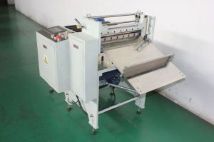 PVC Label Shrink Sleeve Cutting Machine pictures & photos
