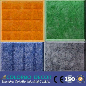 Noise Barrier Material Flexible Panel Design Pet Acoustic Panel pictures & photos