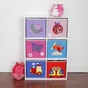 Toy Box Storage Cube Oem Non Woven Fabric Foldable