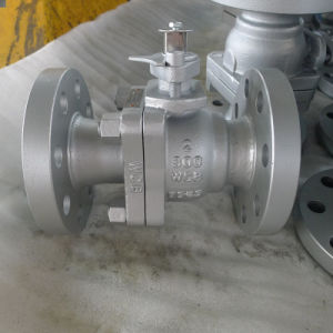 Two Piece Casting Ball Vall, Floating Type, Lever Operated, API6d