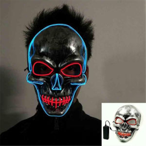 Popular Dance Performances Halloween Glow Masks Monochrome Masks Personalised Decorations Festivals and Party Supplies