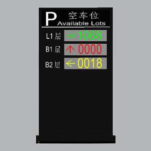 China Intelligent Smart Parking Lot Guidance LED Message Screen LED pictures & photos
