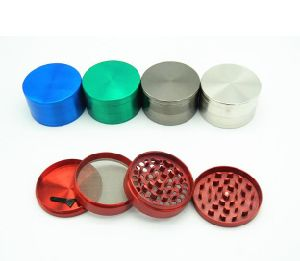 4 Layers Multi Colour Metal Crusher Tobacco Spice Herb Grinder pictures & photos